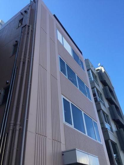 東京営業所の外観