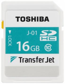 TransferJet™対応SDカードメモリ