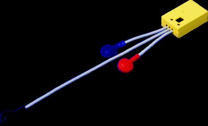 ワイヤレス筋電センサ(湿式)